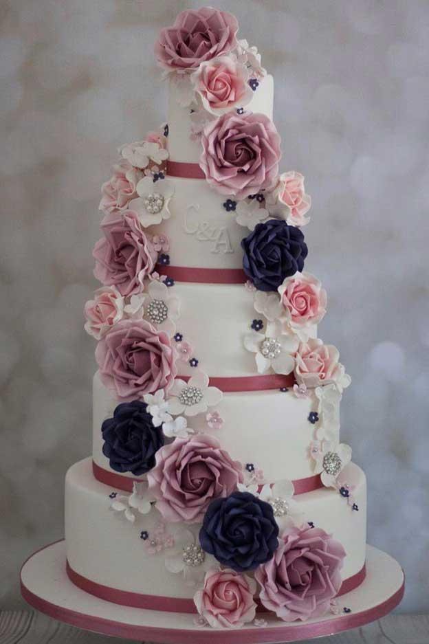 Bespoke Iced Wedding Cakes