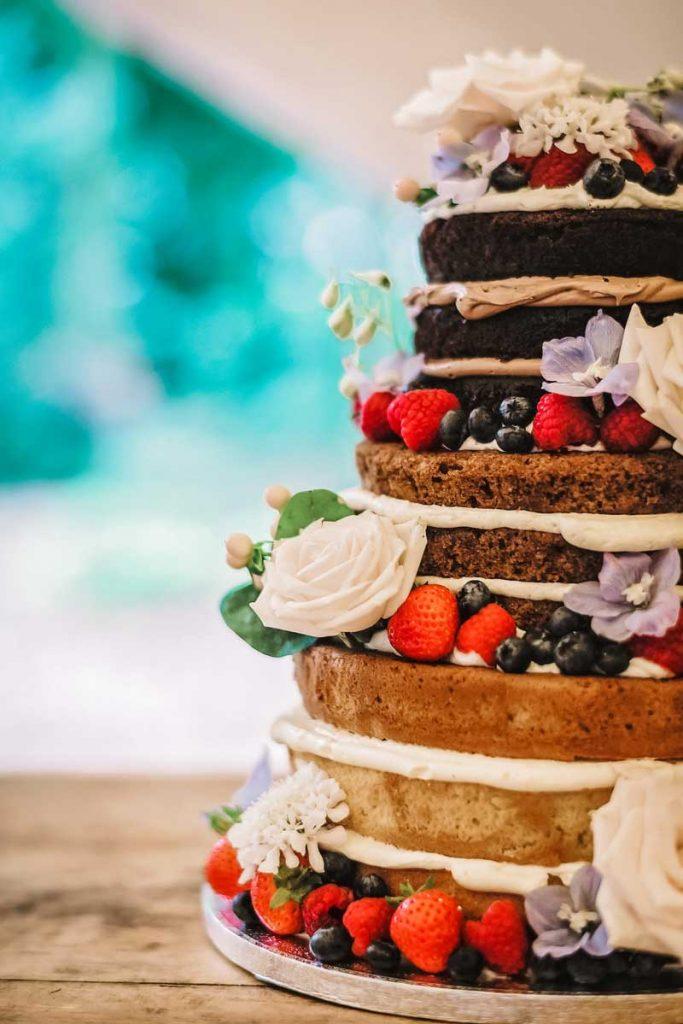 Bespoke Naked Wedding Cakes