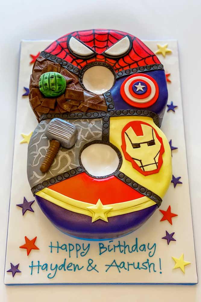 Bespoke Celebration Cakes - Number Cakes